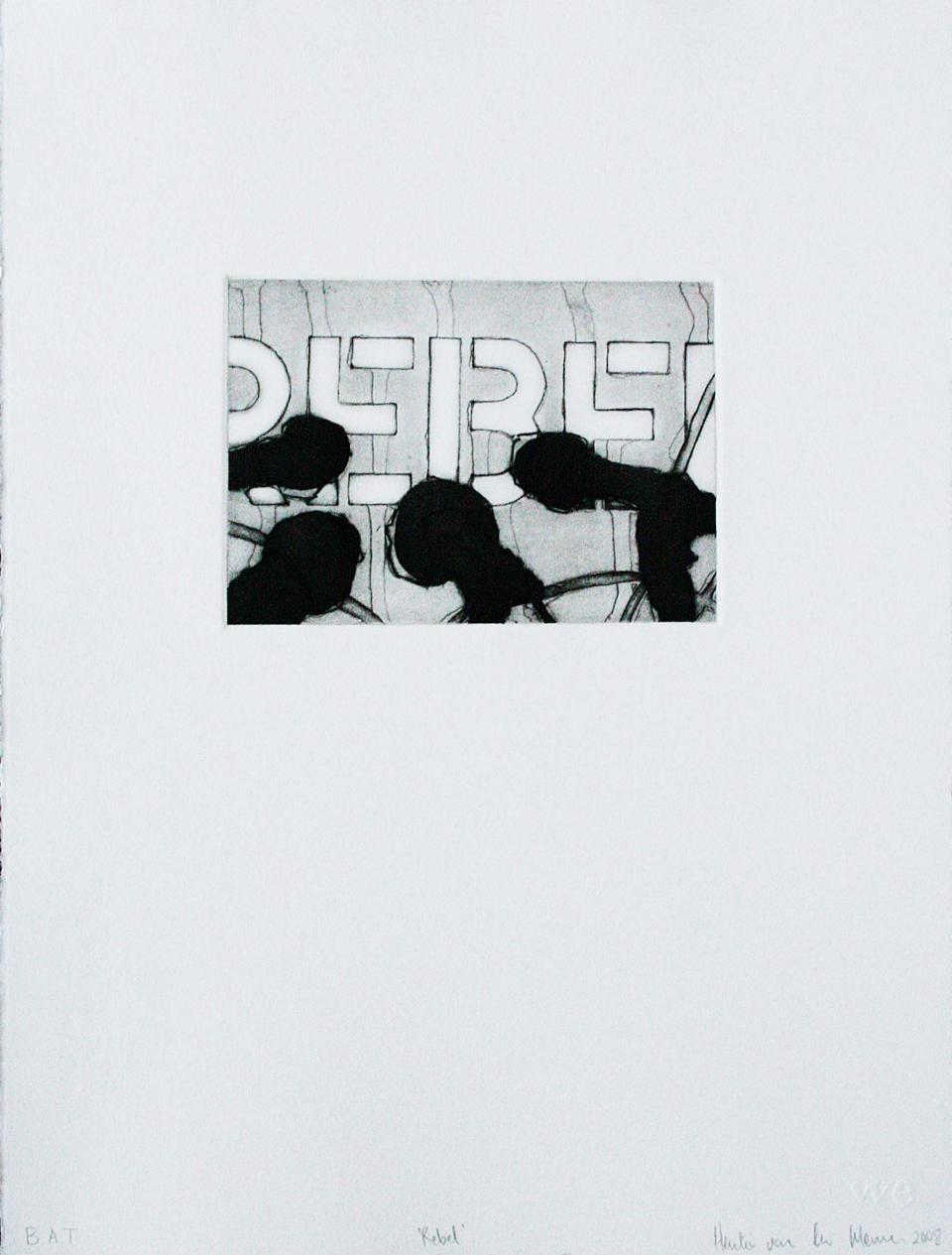 Hentie van der Merwe, Rebel, Prints