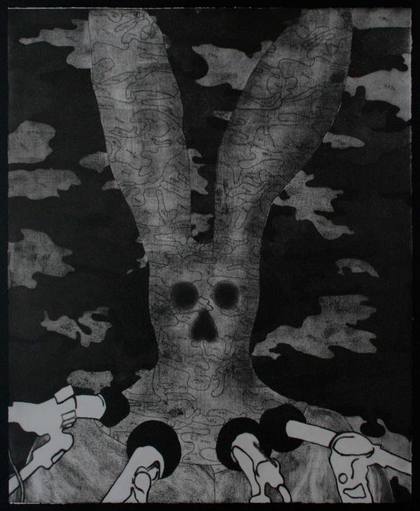 Hentie van der Merwe, Messenger I, Prints