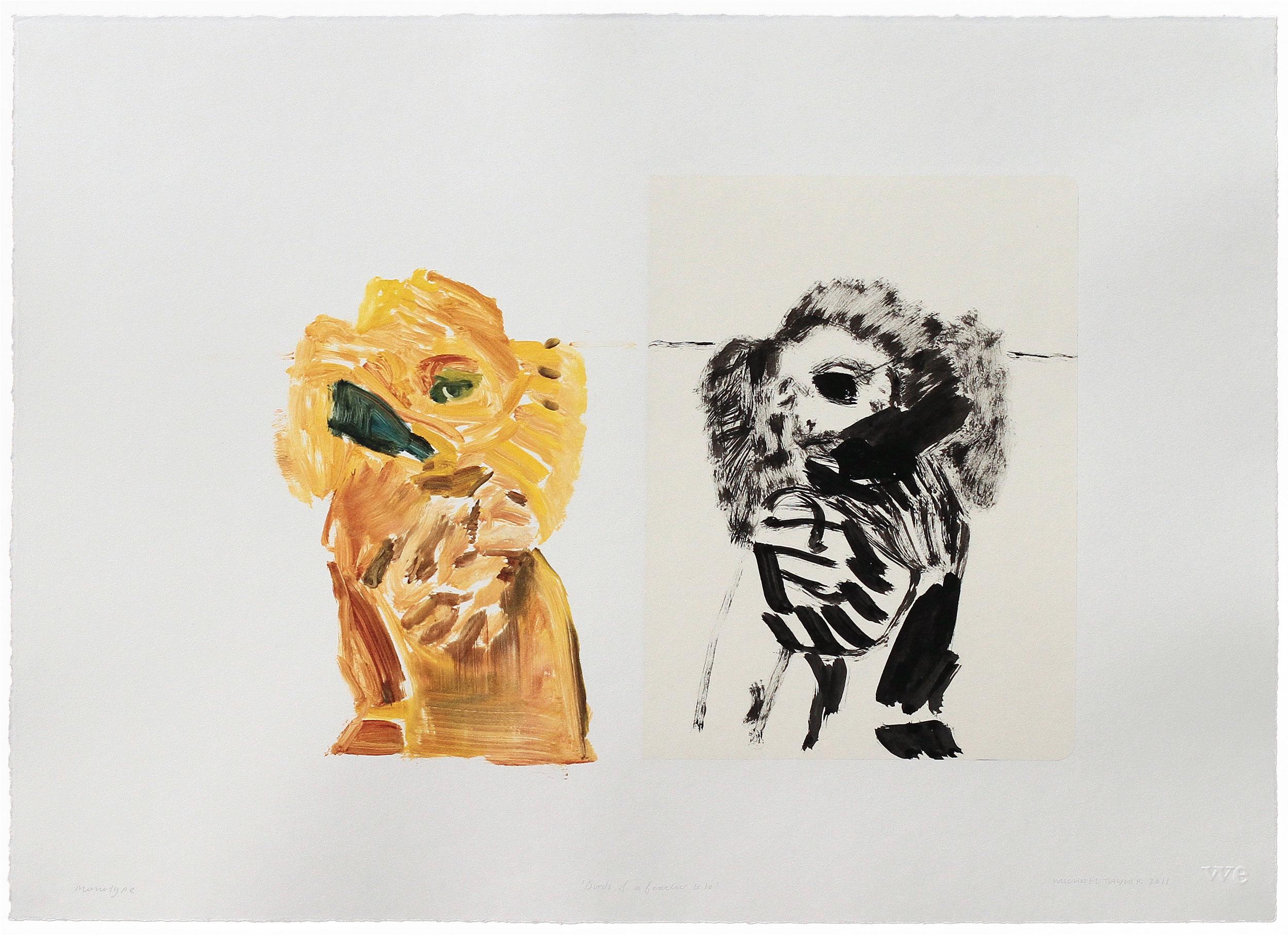 Michael Taylor Prints Monotype Printmaking Drawing