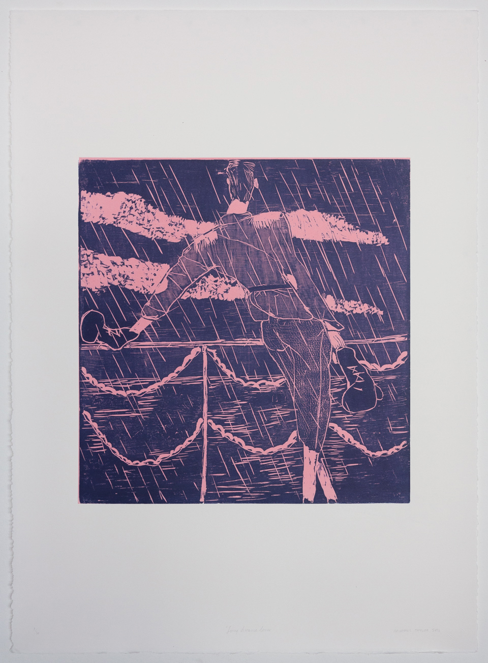 Michael Taylor Prints Woodcut Printmaking