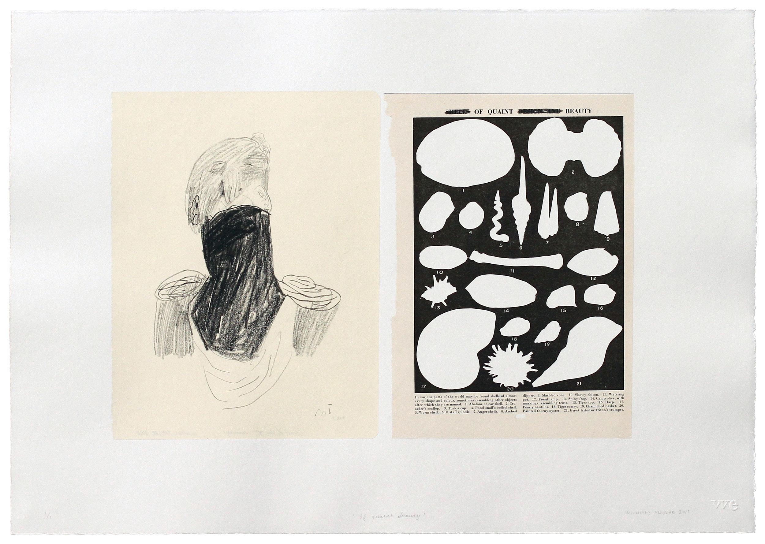 Michael Taylor Prints Printmaking Collage Drawing
