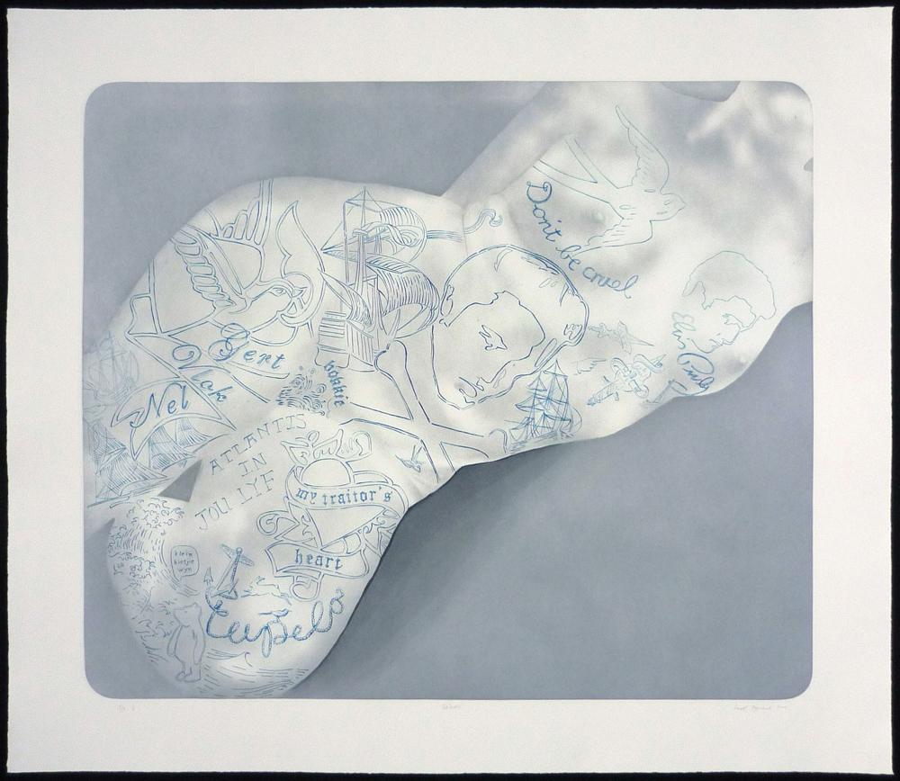Sanell Aggenbach, Print, Prints, Etching