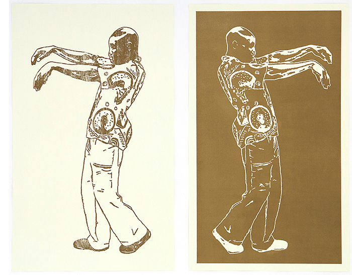Brett Murray Night and Day Art Print Guide: R20,000.00 - R60,000.00