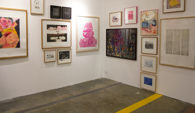 Cape Town Art Fair 2016 Warren Editions Booth