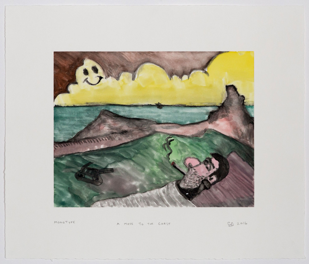 Wilhelm Saayman, A Move to the Coast, Monotypes, Prints