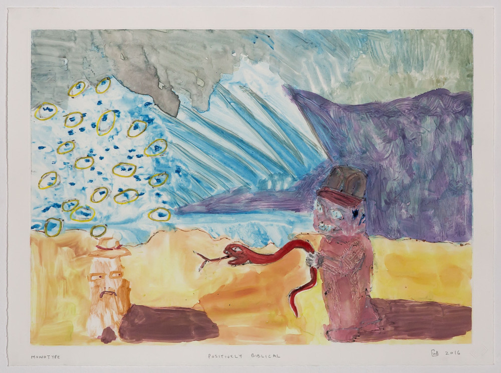 Wilhelm Saayman, Positively Biblical, Monotypes, Prints