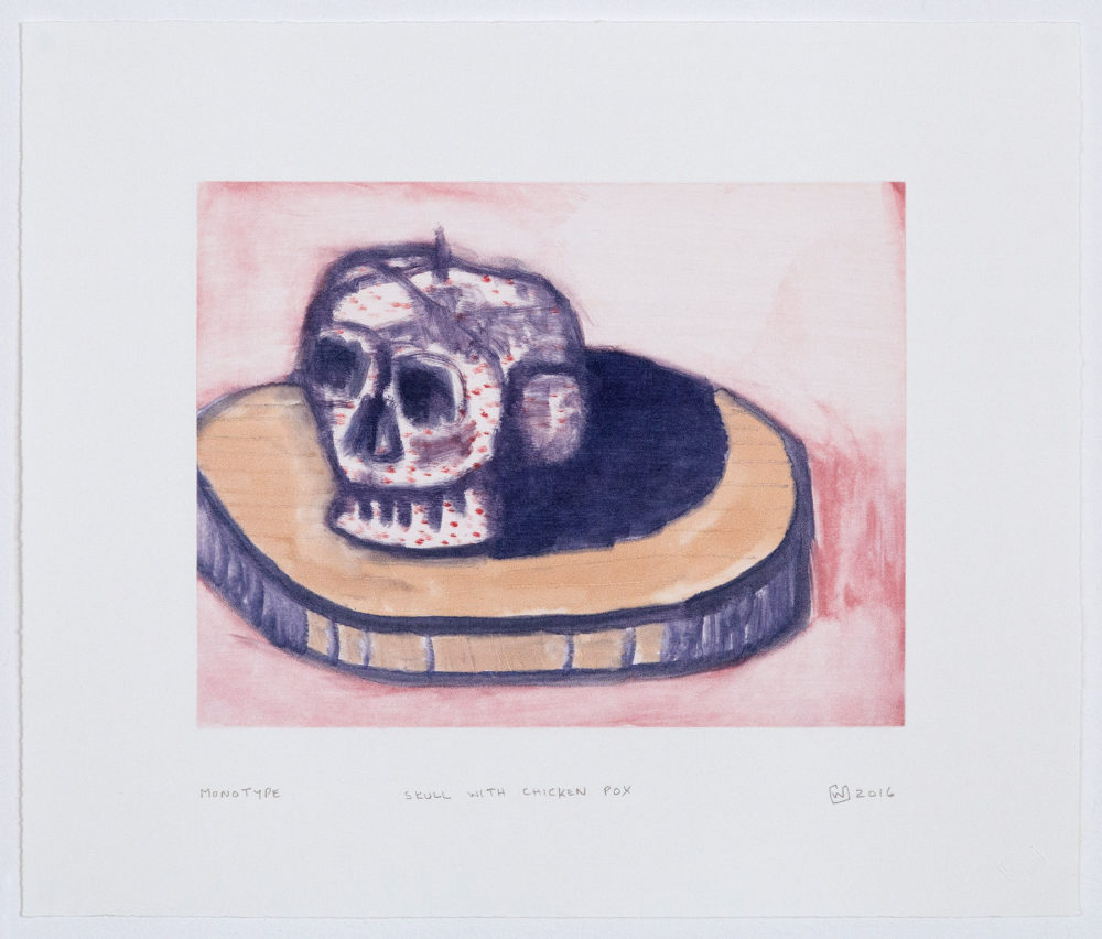 Wilhelm Saayman, Prints, Monotypes