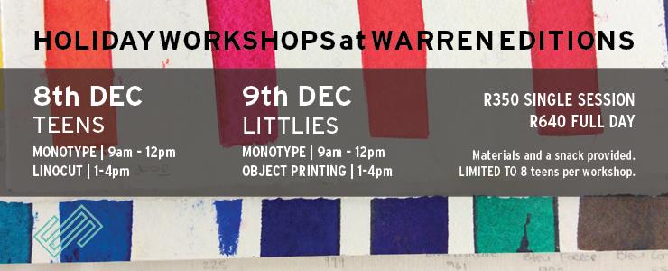 Children linocut workshop Children monotype workshop Children printmaking workshops
