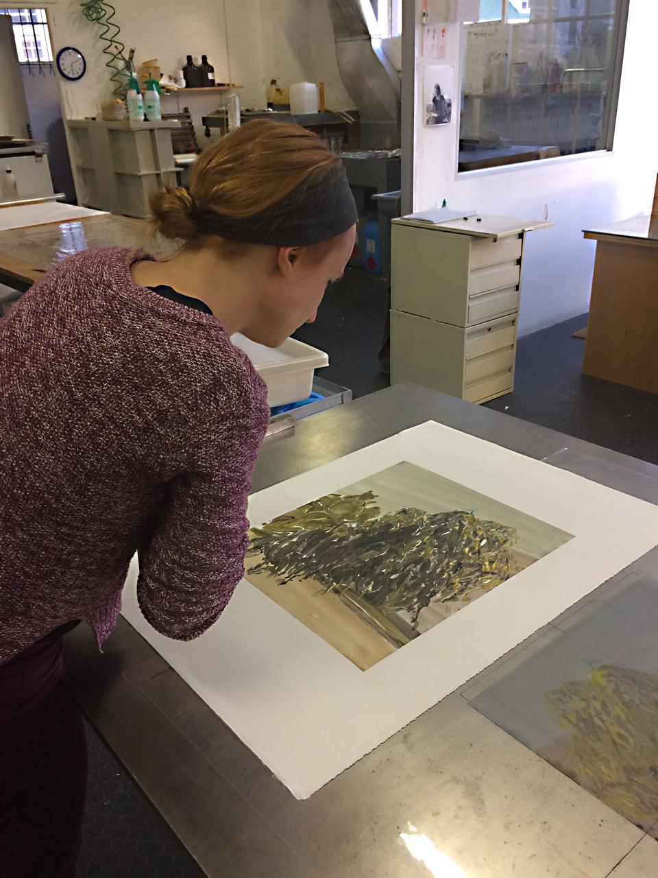 Heidi Fourie Monotypes Prints
