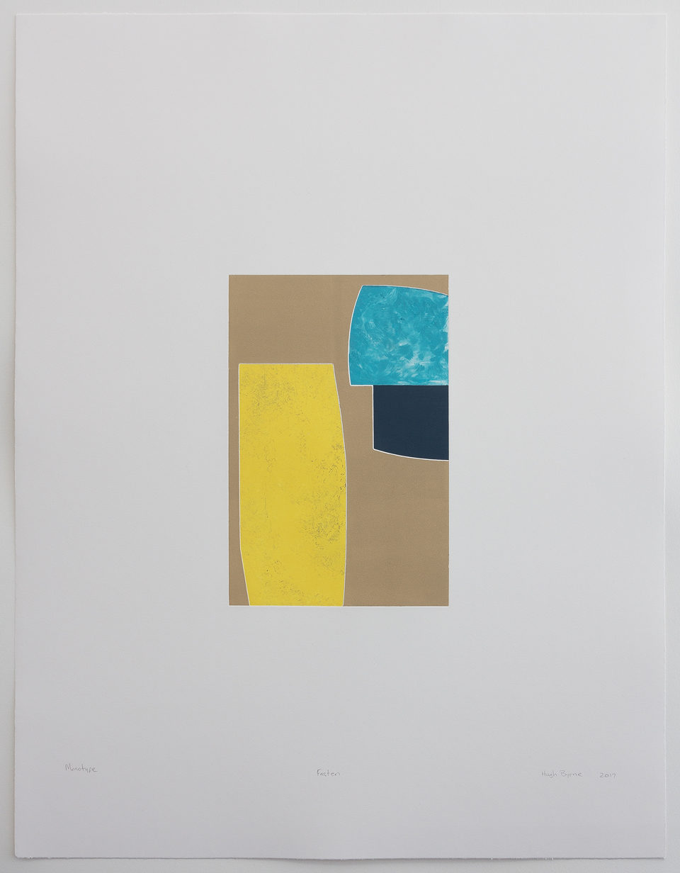 Hugh Byrne, Fasten, Monotype, Prints