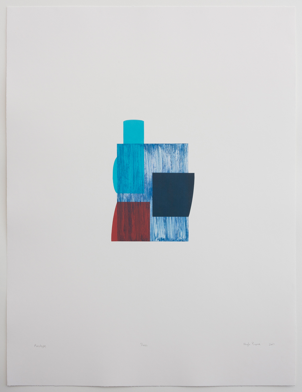Hugh Byrne, Press, Monotype, Prints