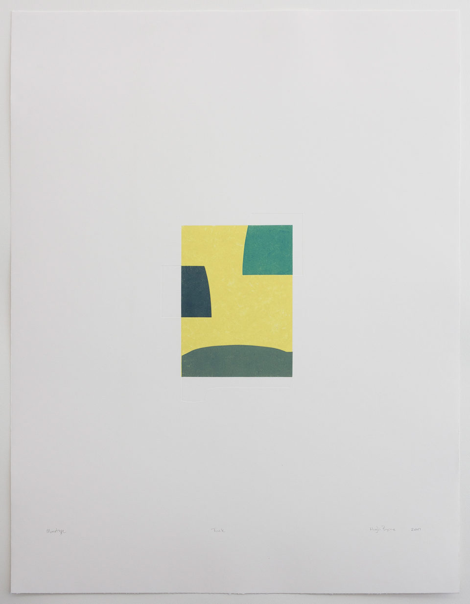 Hugh Byrne, Tuck, Monotype, Prints