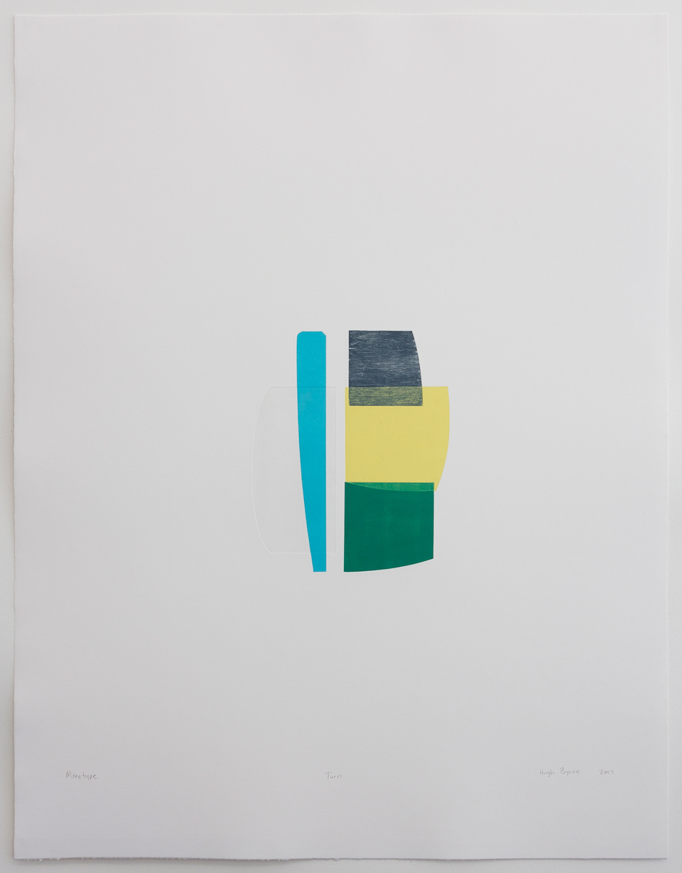Hugh Byrne, Turn, Monotype, Prints