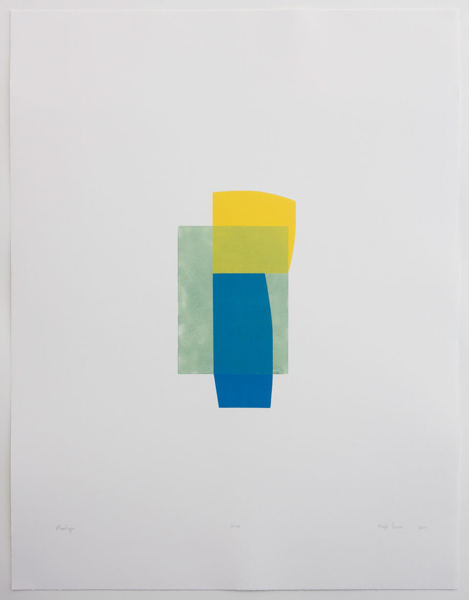Hugh Byrne, Wrap, Monotype, Prints