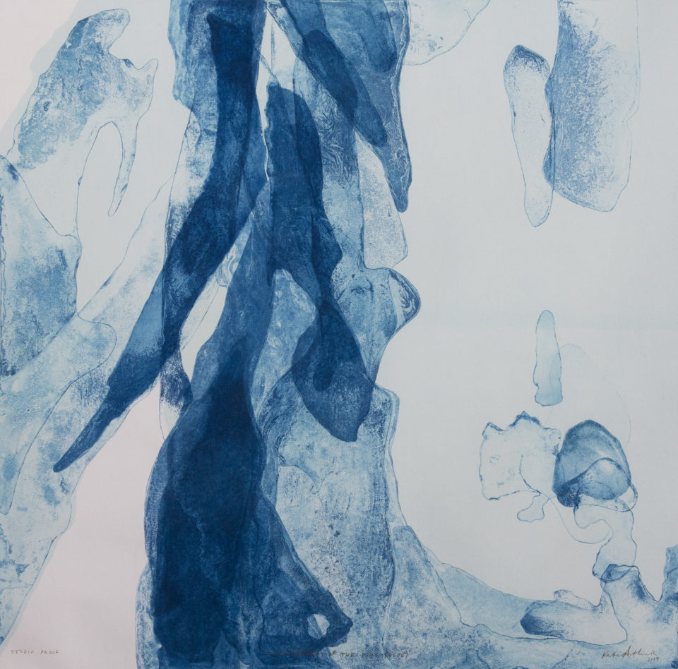 Kate Arthur - Cartography of the Body (Blue)