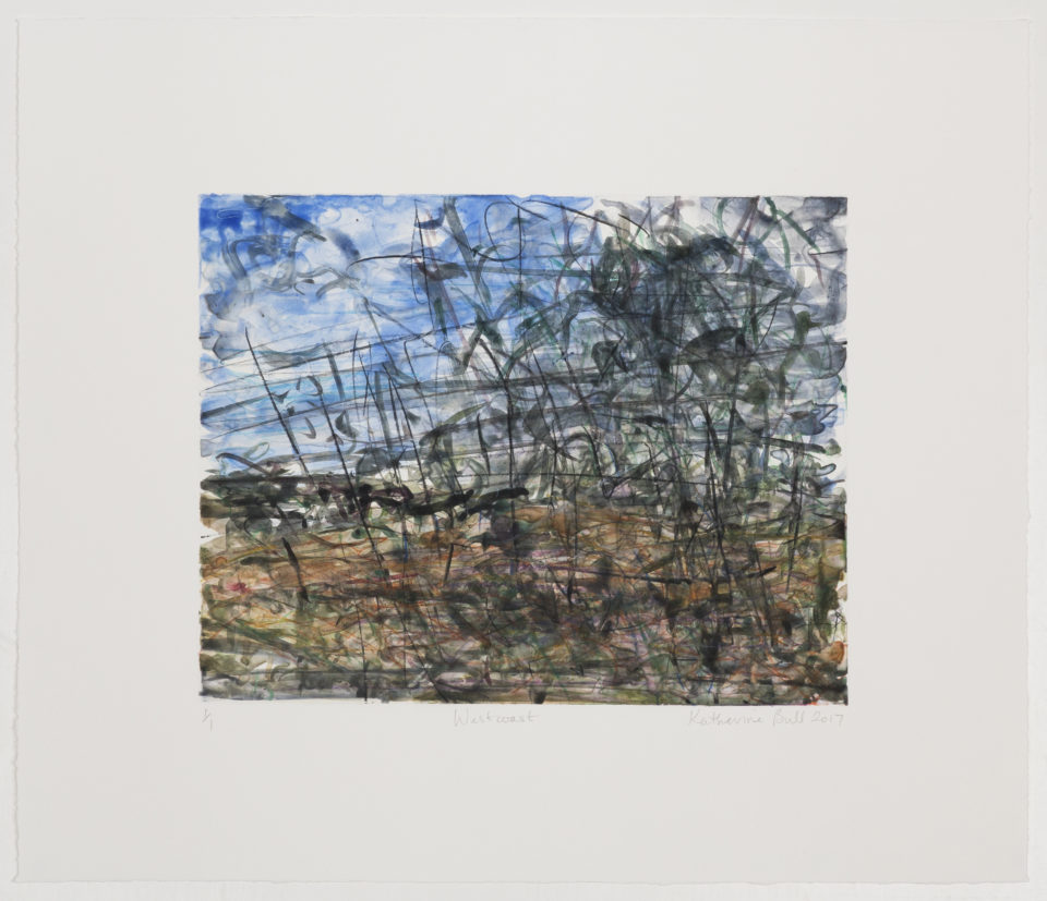 Katherine Bull, Westcoast, Monotypes, Prints