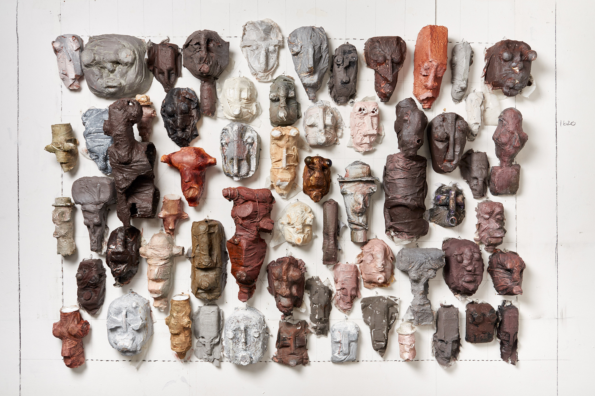 Kagiso Patrick Mautloa, Urban Mask, Sculpture
