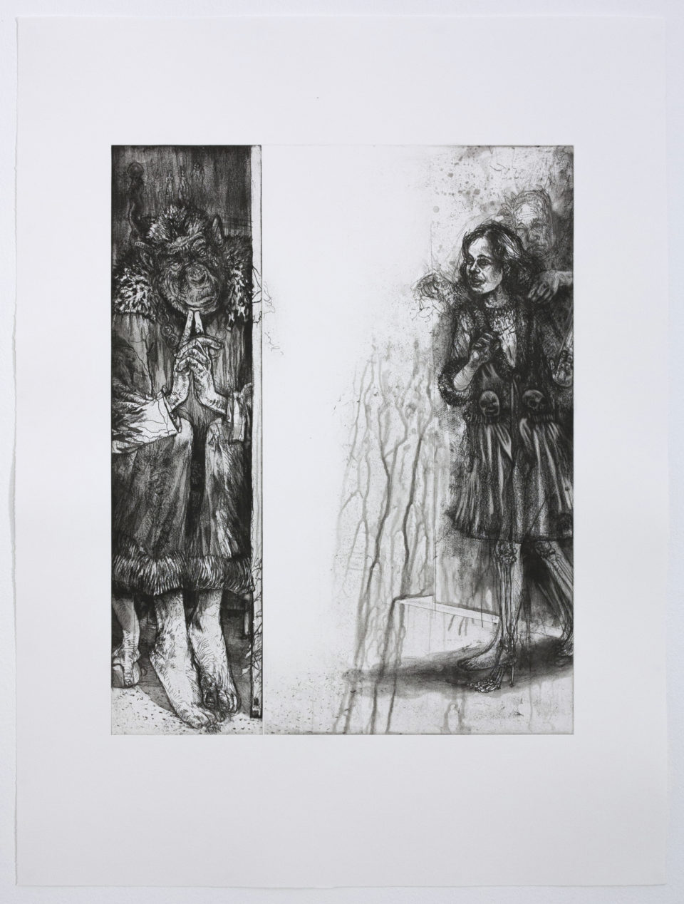 Diane Victor, Come To Daddy, Prints, Etching