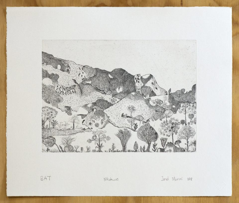 JanetMbrimi, Prints, Etching