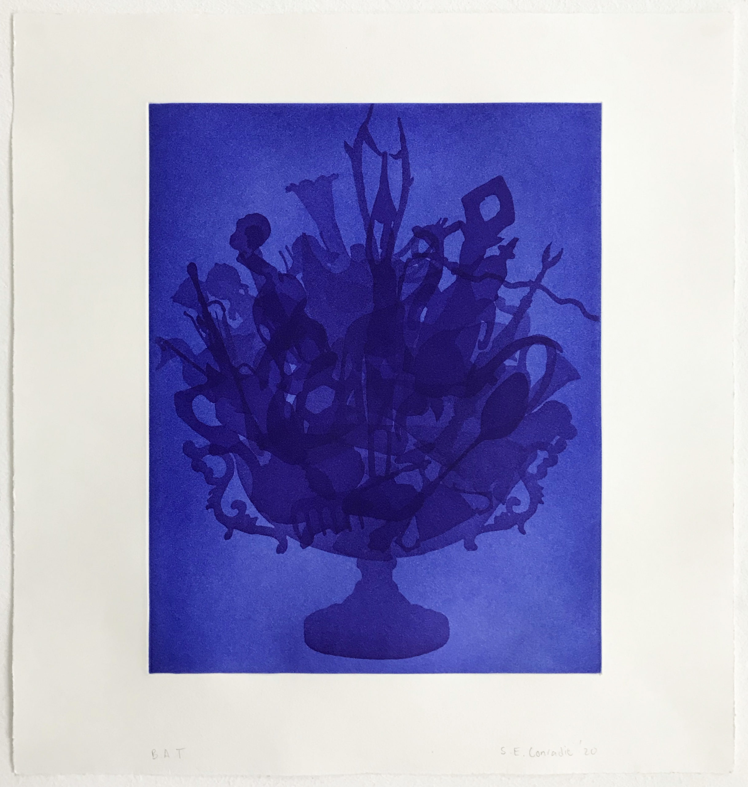 Stephané Conradie, Print, Etching, Edition S